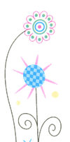 Cute Flowers PNG by HanaBell1
