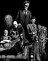 The Addams Family by T-RexJones
