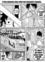 One Piece:High School Never Ends Page Six by Reverendbug