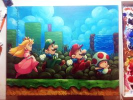 Super Mario Bros 2 by J2Dstar