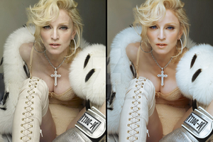 Madonna Retouched by wildflower4etrnty