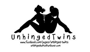 Unhinged Twins business cards by Kuroyoake