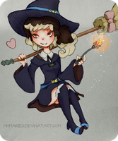 Little Witch Academia by KHMarie12