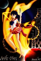 Raye Hino is Sailor Mars by Stretch90