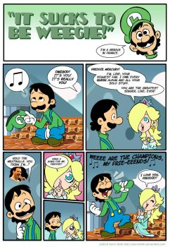 It Sucks to be Luigi: Freddie by kevinbolk