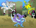 Adventure Time with My Little Pony #13 by kelseyleah