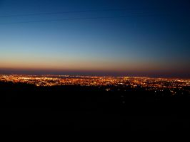 Dublin's City Lights by Lil-Plunkie