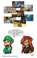 Luigi's Death Stare by WildGirl91