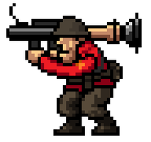 The Soldier [Metal Slug Style] by CptMaximum9001