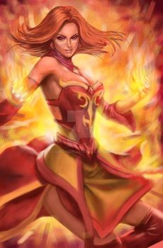 Lina - Just Practice - Painter12 Wacom Intuos4 L by Singabee
