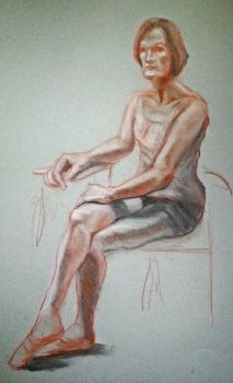 Unfinished life drawing by mike-torma