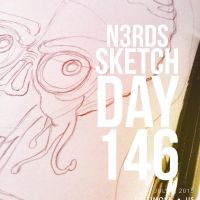 Sketch Day 146 by n3rdswithpapercuts