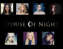 House of Night Cast by zvunche