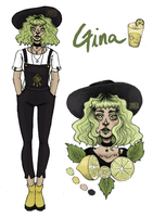 Adoptable:GINA [CLOSED] by annavixie