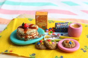 Breakfast: Theirs - Miniature by thinkpastel