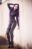 Tea Time in catsuit I by BelindaBartzner