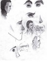 A Very Sad Loki Sketchdump by aries0