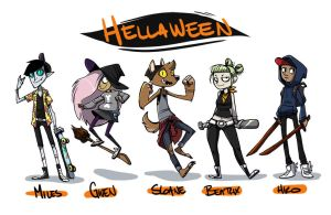 Hellaween by DIN0LICH