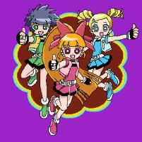 PowerPuff Girls Z by TikaFauxx