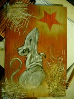 Cheesy Christmas Mouse by Aurora-Chemical