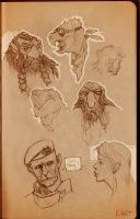 Sketchbook_Dwarf by Ikameka