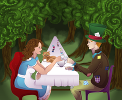 Alice in Wonderland | HP Style by Reminiscexx