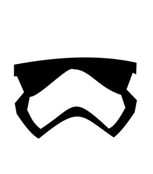 First Order Stromtrooper Helmet by DracofireProductions