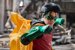Damian Wayne (4th Robin) by Shinigami-X