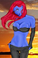 Mystique by Roadkill by Mythical-Mommy