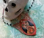 La Catrina Necklace by phee-adornments