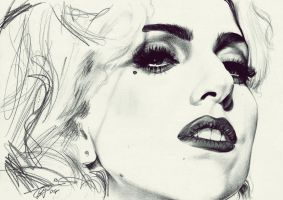 Lady Gaga - The Fame Monster by davyrey