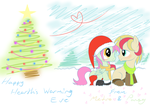 Merry Filly Christmas by Petalierre