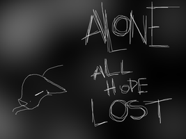 Alone. by ky-nae