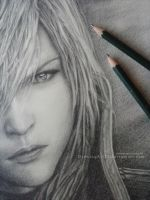 WIP- Lightning Returns - The savior. by DrawingArt23