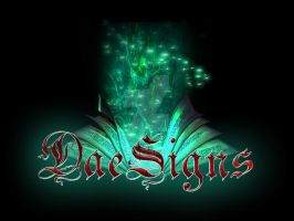 DaeSigns Magic Book Logo by Ealaine
