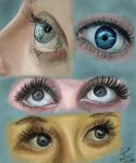 Eyes study - 30 may by Leia1987