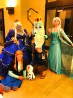 The Ice People of Holiday Matsuri by NostalchicksCosplay