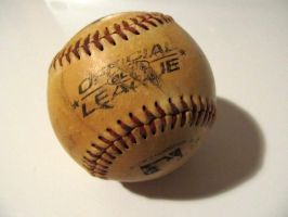 stock - baseball by ribcage-menagerie