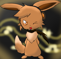 Kira the Eevee by pichu-berry