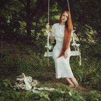 White swing by AnitaAnti