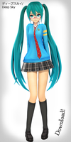 Deep Sky Hatsune Miku - Koron Style - Download! by xDreamShardsx