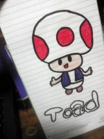 Toad from Nintendo! by Autopilotkitty