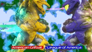 AGLA Grifball Poster by spiral6sm
