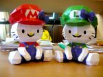 Hello Kitty Mario Bros by random-lil-azn