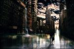 Apocalypse in New York streets by photomomo