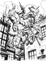 Teenage Mutant Ninja Turtles. by deankotz