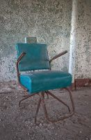 Teal Chair by pewter2k