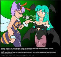 Darkstalkers Chat 1 by ChaosCroc