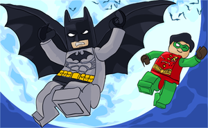 Lego Batman :D by Riqochaii