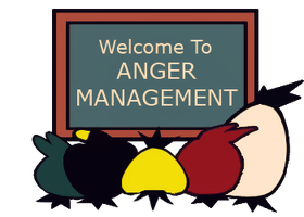 Angry Birds Anger Management by Marzarret